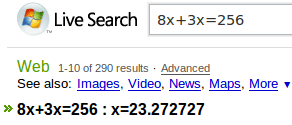 live_search_algebra