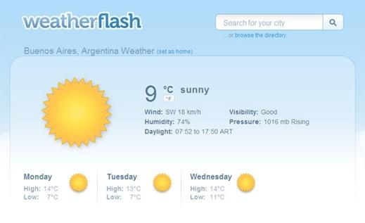 weatherflash