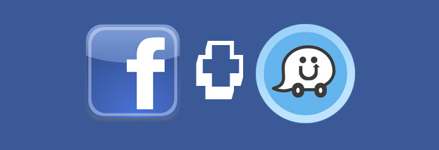 facebook and waze