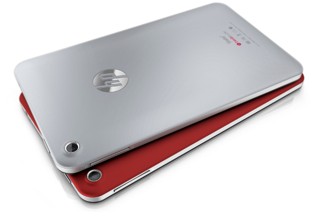 HP Slate 7 – Red and Silver