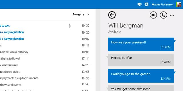 Skype en Outlook