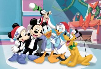 Mickey y sus amigos en Navidad