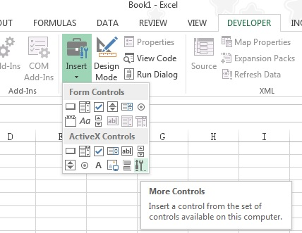 Excel difference between Form Controls vs ActiveX Controls - excel developer