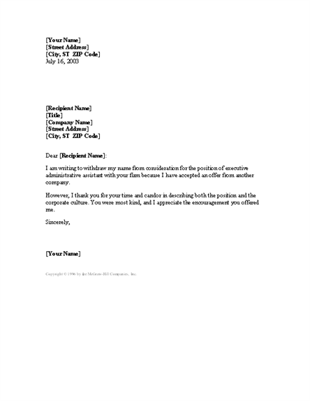 Job Offer Counter Offer Letter Sample – Job Offer Letter