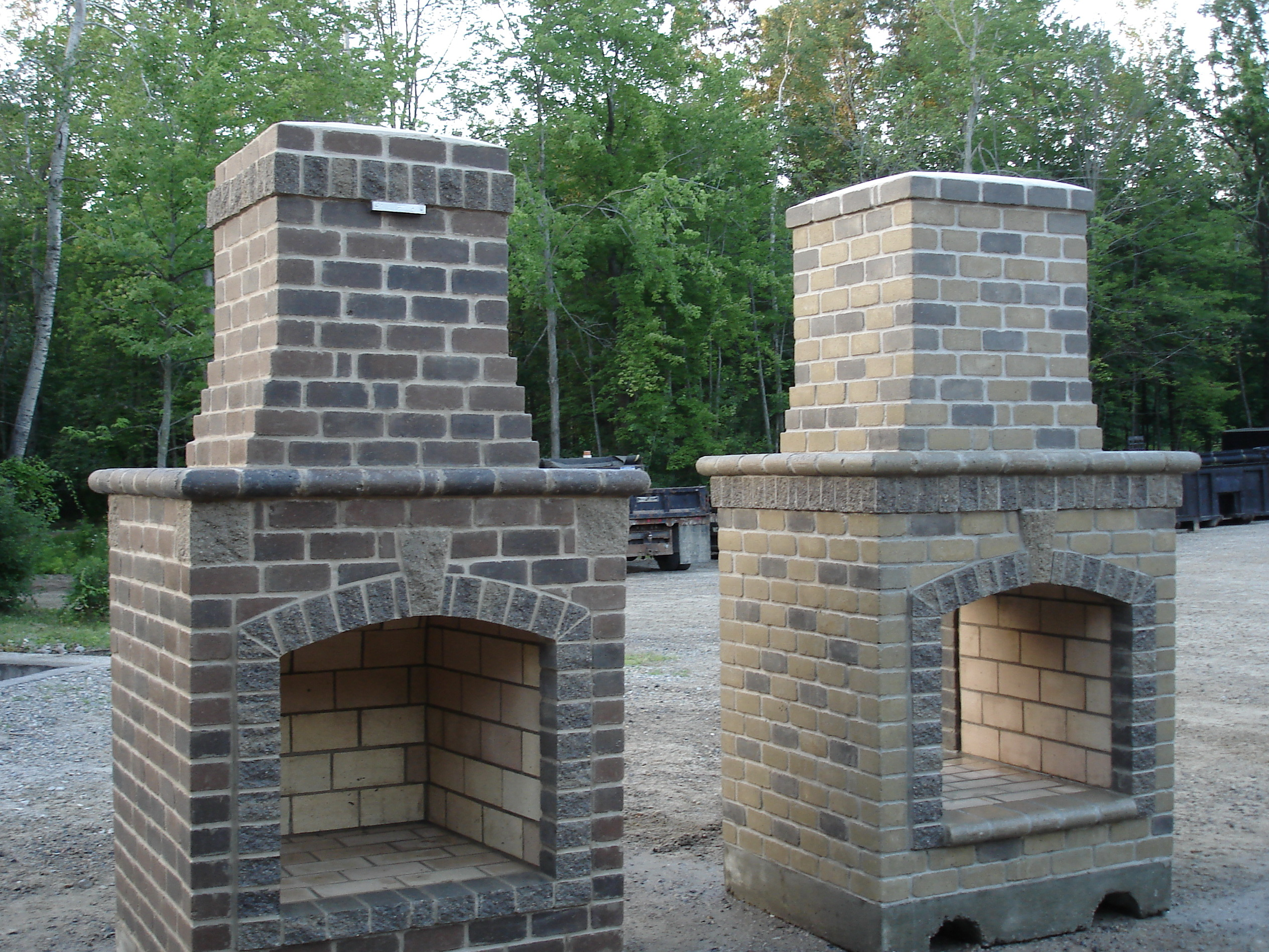 Make Your Own Outdoor Fireplace Build Outdoor Fireplace Plans Home Design Ideas