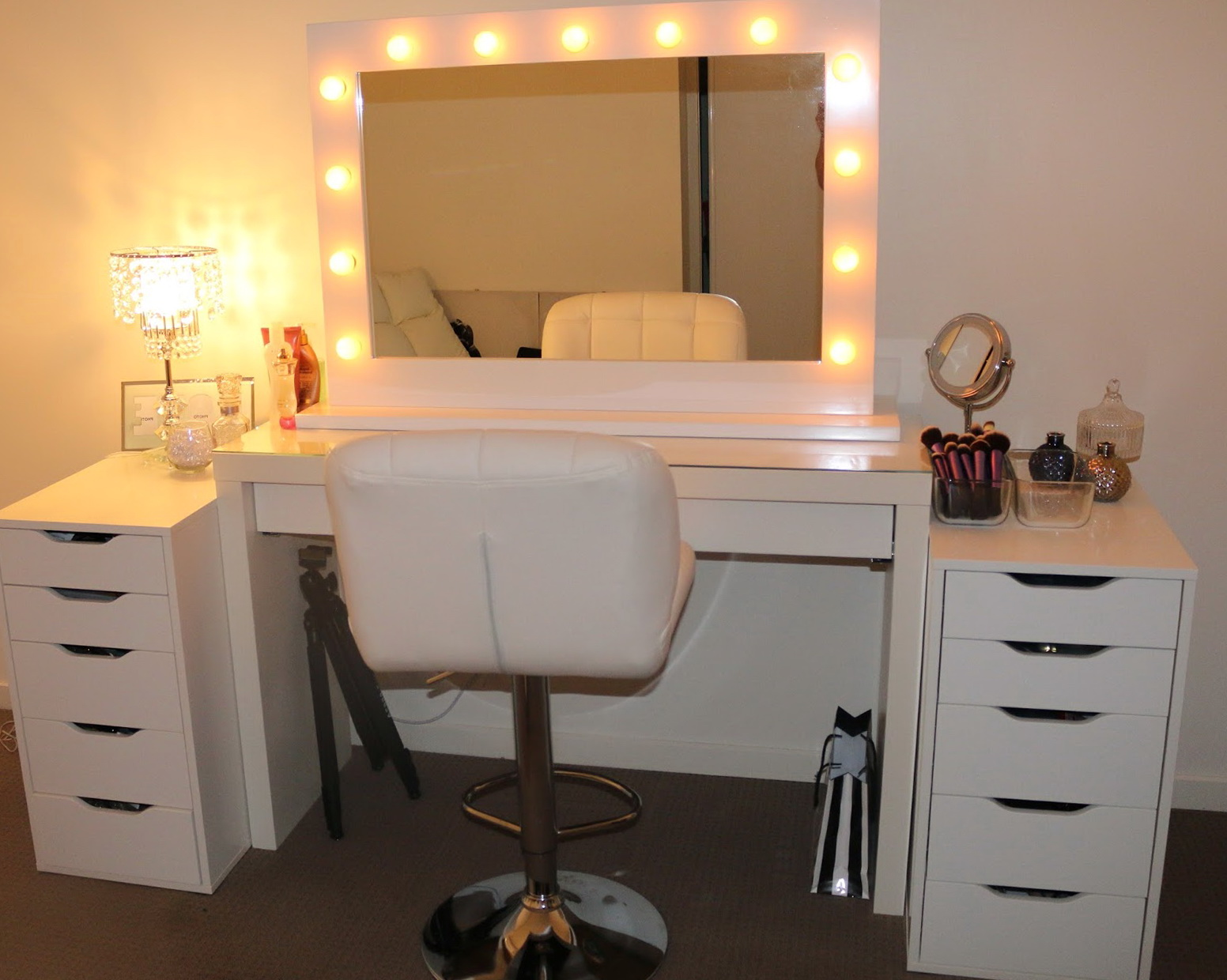 Hollywood Mirror Lights Ikea Hollywood Vanity Mirror With Lights Ikea Home Design Ideas