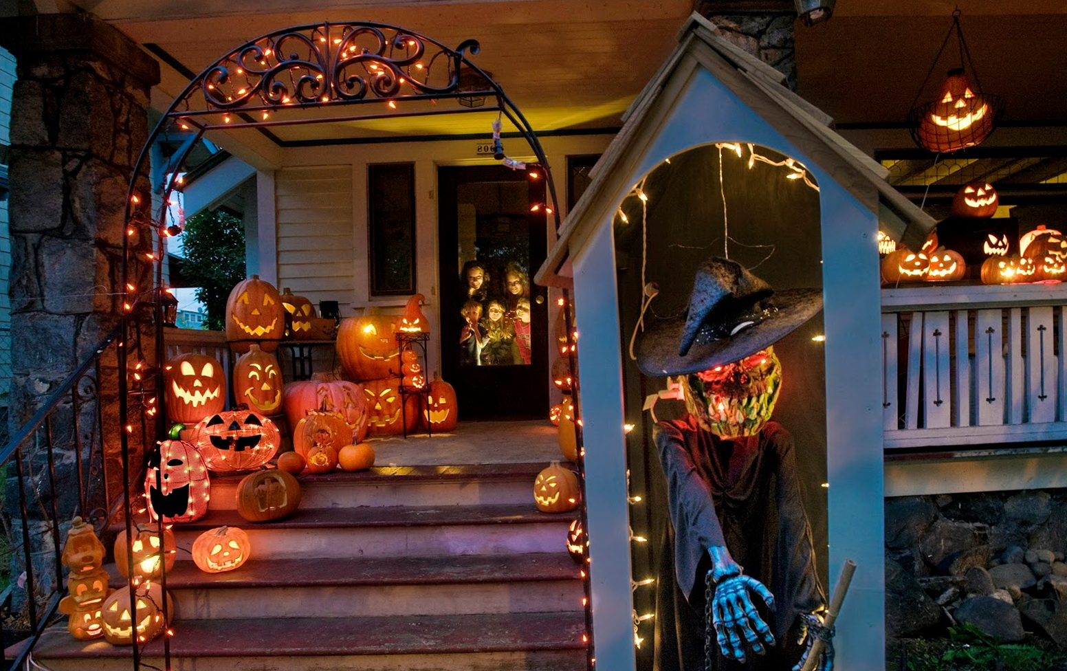 Ranch House Design Ideas Diy Halloween Porch Light Covers | Home Design Ideas