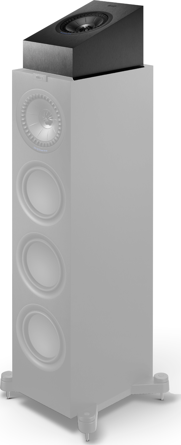 Dolby Surround Wireless Kef Q50a Dolby Atmos-enabled Surround Speaker White Pair