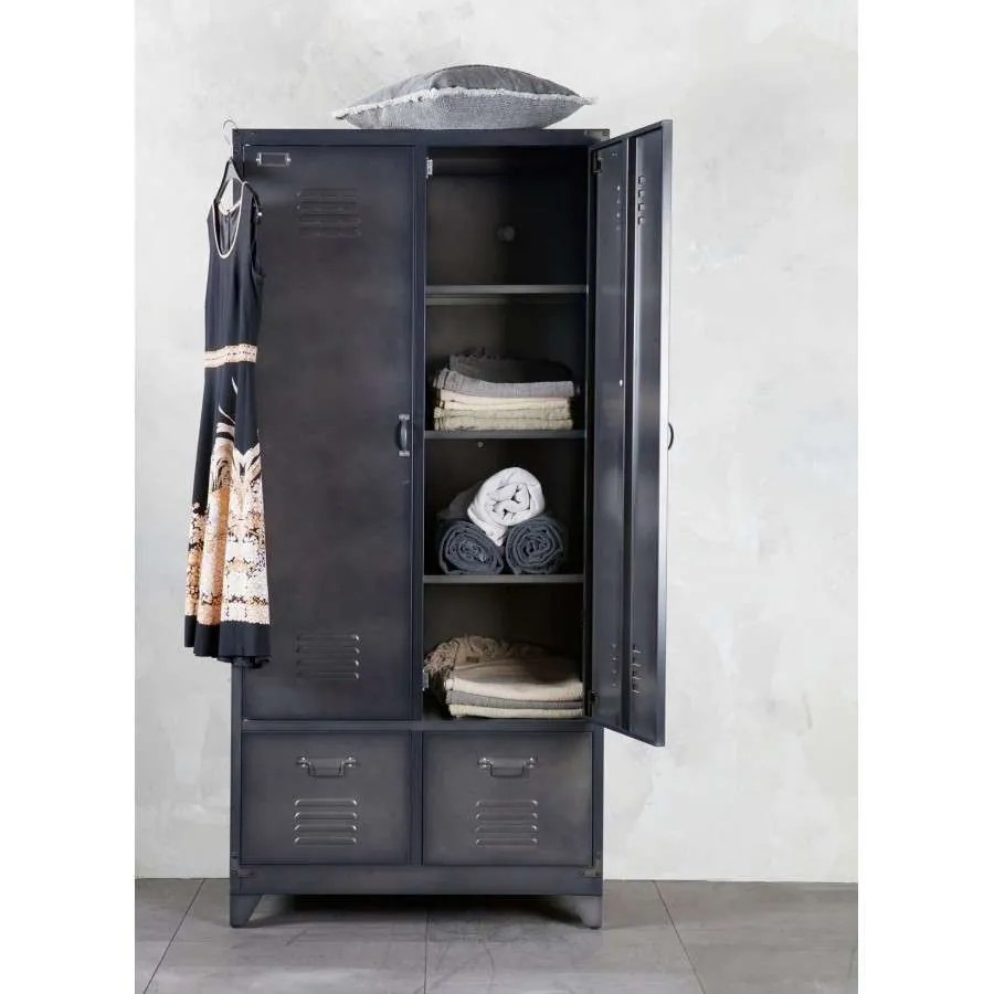 Spind Schrank Vintage Black Locker Cabinet From Accessories For The Home