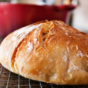 Almost No Knead Bread Recipe Courtesy of Cook's Illustrated