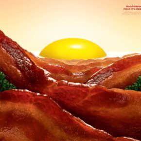 Bacon Sunrise is Stunning Food Art