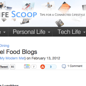 Accidental Epicurean Recognized as Best Travel Food Blog