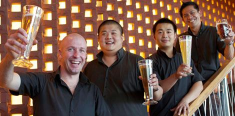The BREW team at Kerry Hotel Pudong