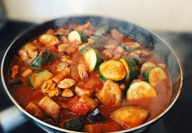 Saucy Mediterranean Mussels (Without Shells) for 3 Weight Watchers Smart Points