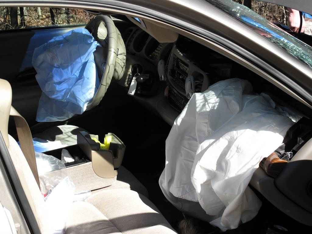 Car Accident Airbag Deployment