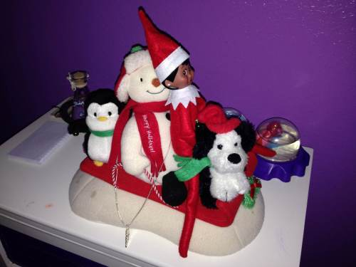 Elf On The Shelf First Night Christmas Craft Ideas 18 Month Old