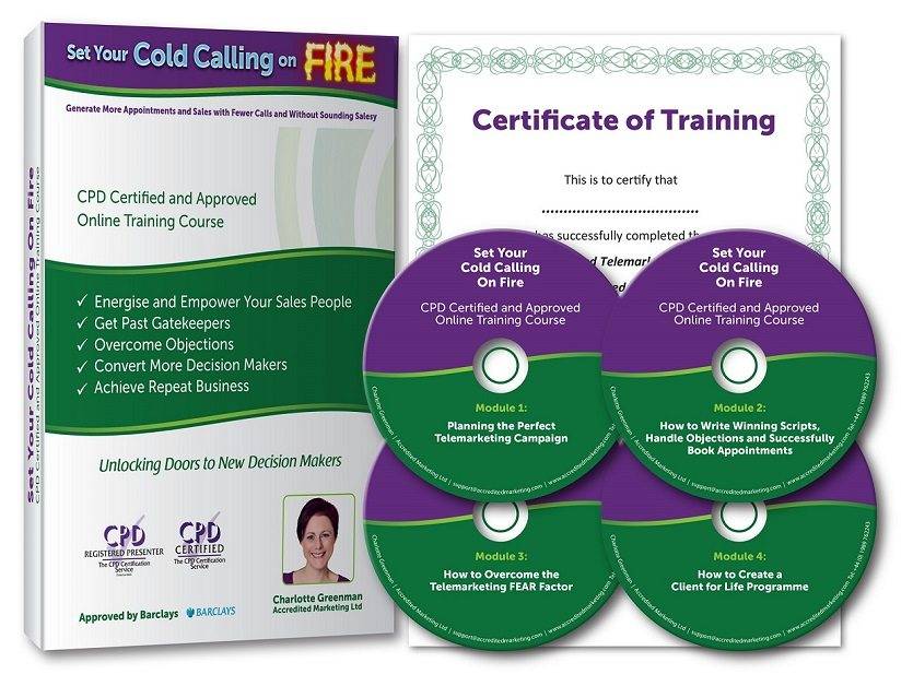 Set Your Cold Calling on Fire - Telemarketing Training