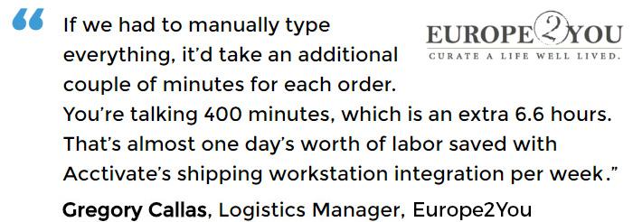 Order fulfillment software for QuickBooks®