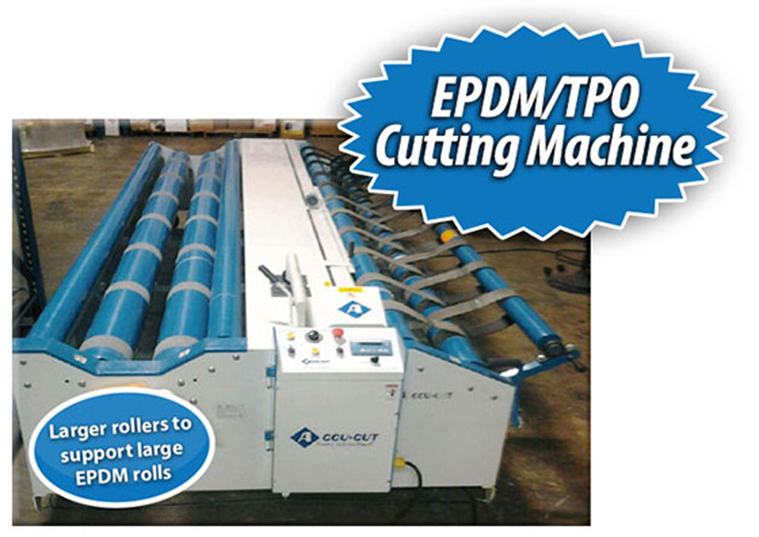 Epdm Rol Accu Cut Epdm Cutting Machine