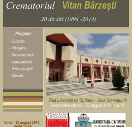 Zilele portilor deschise Crematoriul Vitan Barzesti