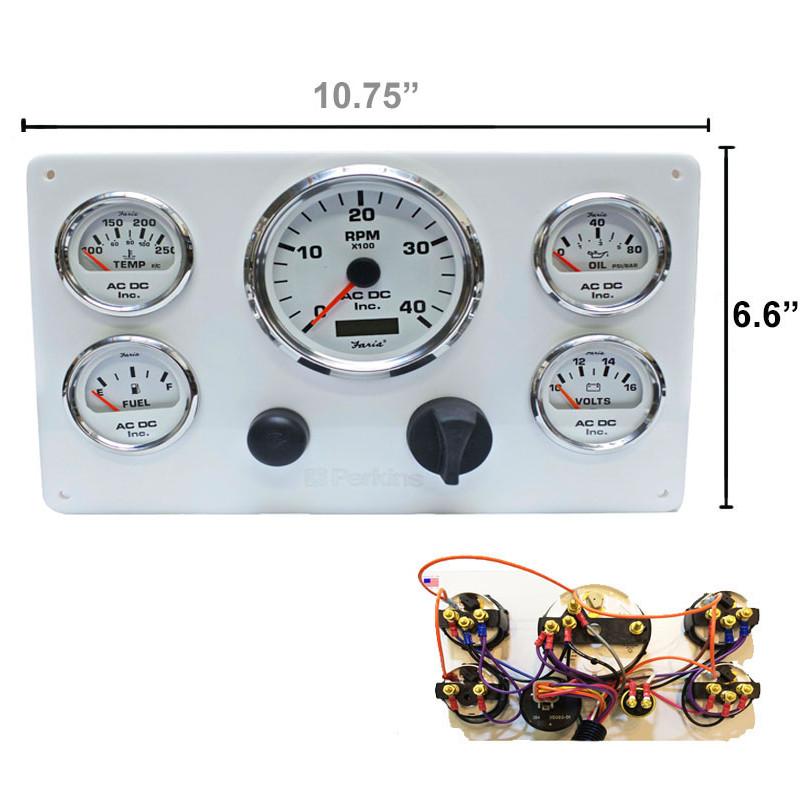 Faria Outboard Tachometer Wiring Diagrams Chevy Ballast Resistor