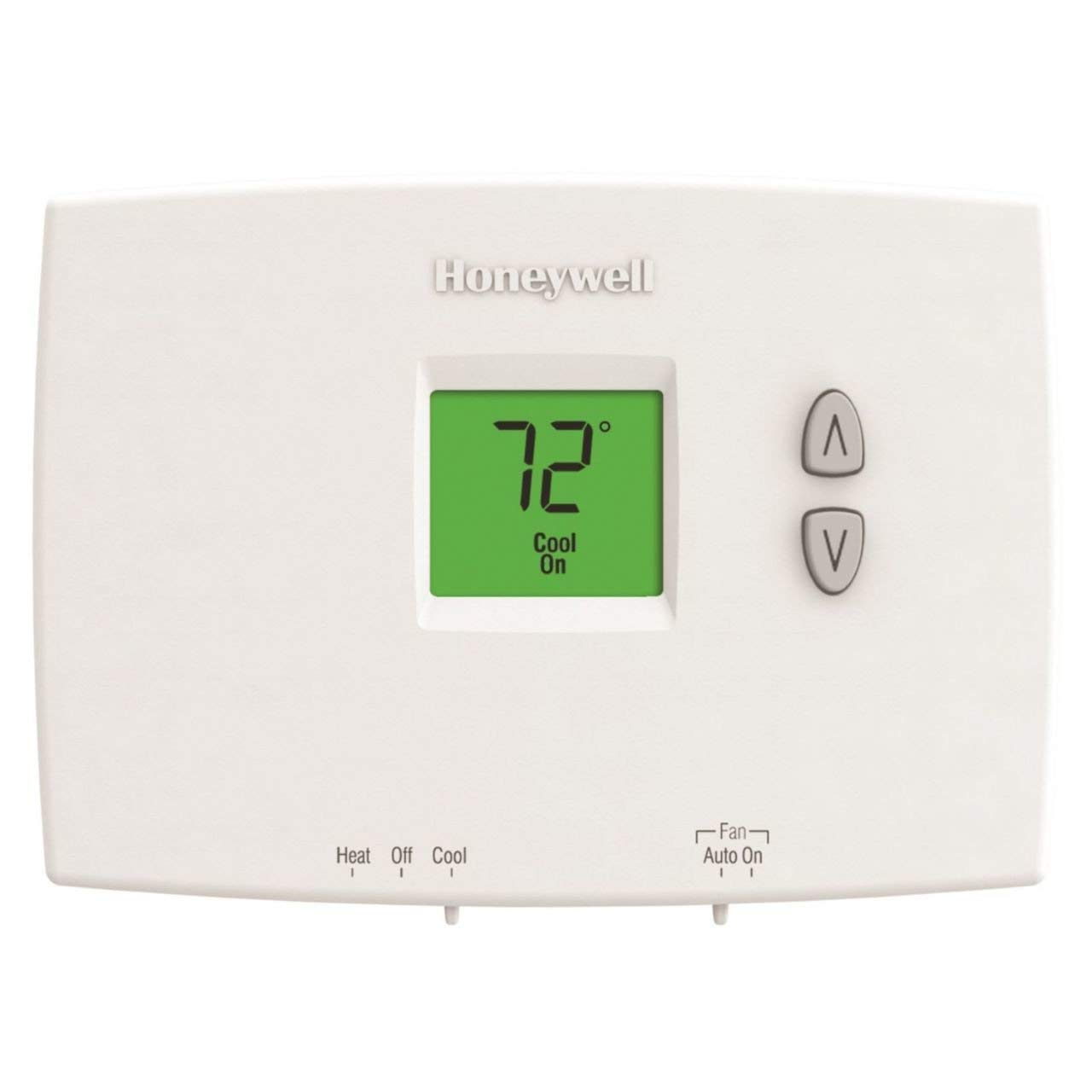 Honeywell Programmable Thermostat Honeywell Th1110dh1003 Horizontal Pro 1000 Non Programmable