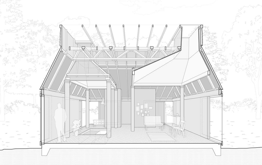 Nora House, Atelier Bow Wow DRAWING Pinterest Atelier
