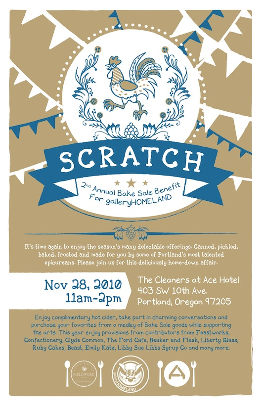 Scratch Bake Sale and Benefit Ace Hotel Portland Boutique Hotel