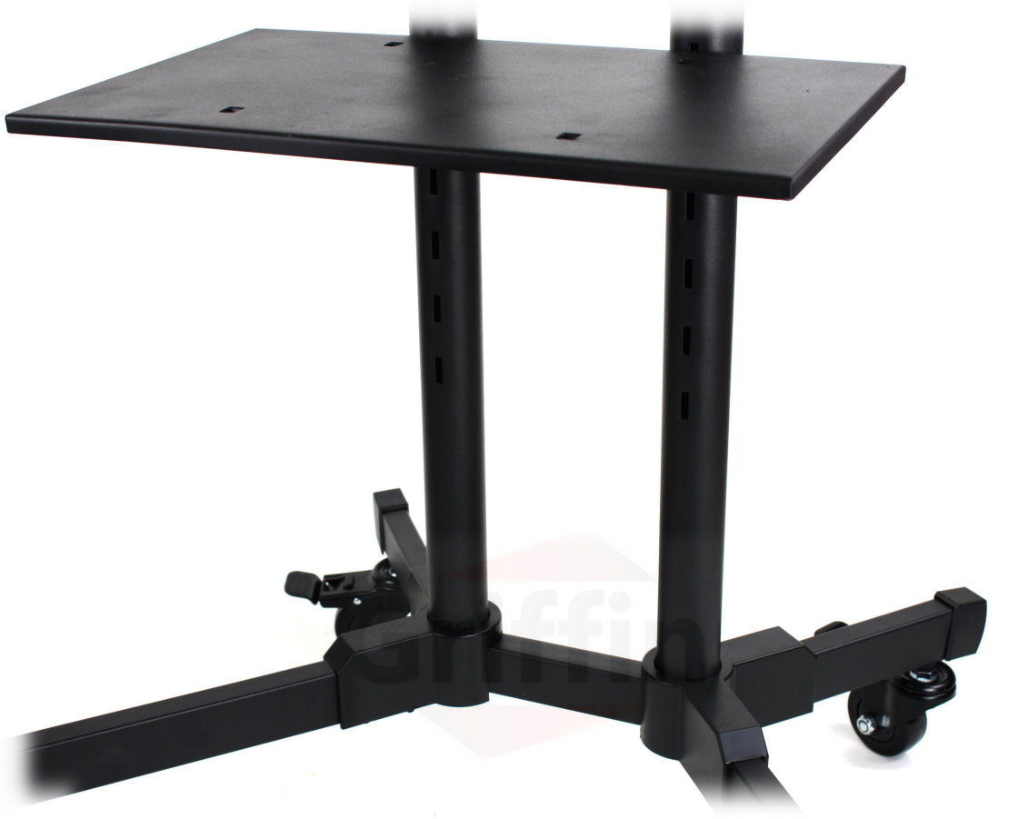 Tv Stand With Wheels Lcd Tv Cart Stand Rolling Av Plasma Flat Panel Screen