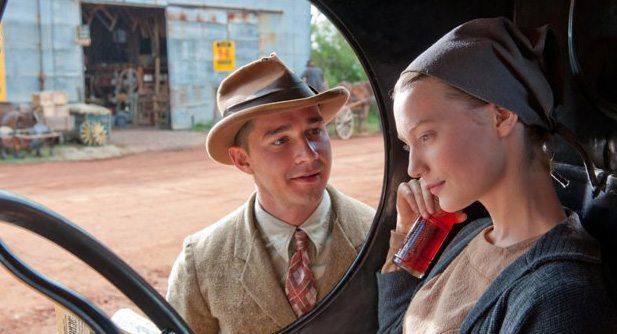 Jack (Shia LaBeouf) tries to impress Bertha (Mia Wasikowska)