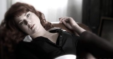 Alexandra Breckenridge as the sultry housemaid in American Horror Story