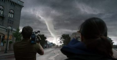 A super tornado approaches Silverton