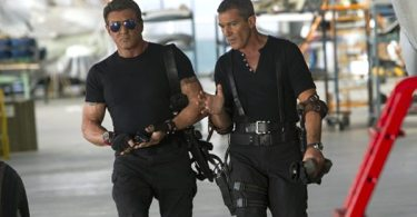 Barney Ross (Sylvester Stallone, left) and Galgo (Antonio Banderas,