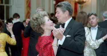 The First Lady Nancy and President Ronald Regan