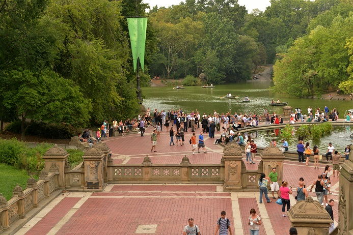 Posted By A Central Park Wedding On Sep 24 2013 In Bethesda Fountain