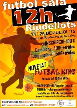12H FUTBOL SALA 2015