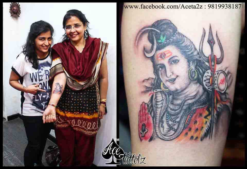 Vaibhav Name Wallpaper 3d Top 12 Best Lord Shiva Tattoo Designs Ace Tattooz