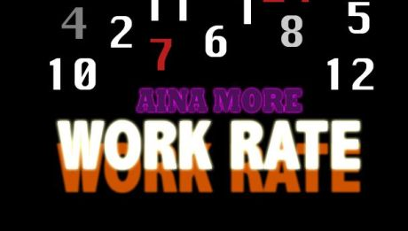 Aina More - WORK RATE [Snippet] Artwork ~ AceWorldTeam.com