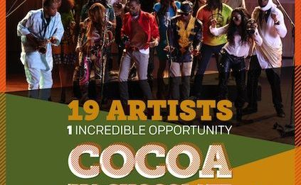 D'banj & African All-Stars - COCOA NA CHOCOLATE [prod. by Cobhams Asuquo] Artwork | AceWorldTeam.com