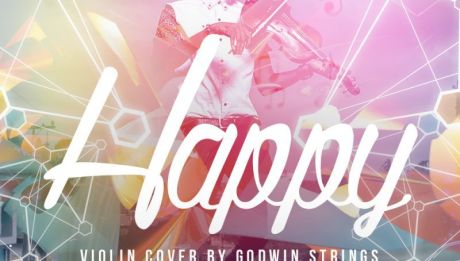 Godwin Strings - HAPPY [Violin Cover ~ Video] Artwork | AceWorldTeam.com