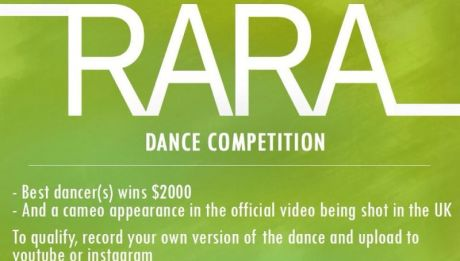 Sean Tizzle - RARA [Dance Competition ~ WIN $2000] Artwork | AceWorldTeam.com