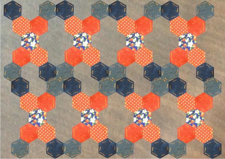 Hexagon pattern achelois