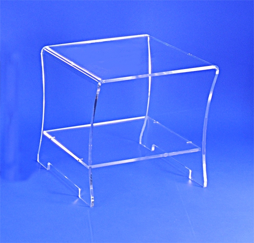Table De Nuit Transparente Table De Chevet Plexi Cristal