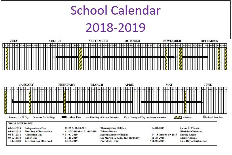 lausd calendar calendar online 2019 lausd calendar 2017 2018 2018