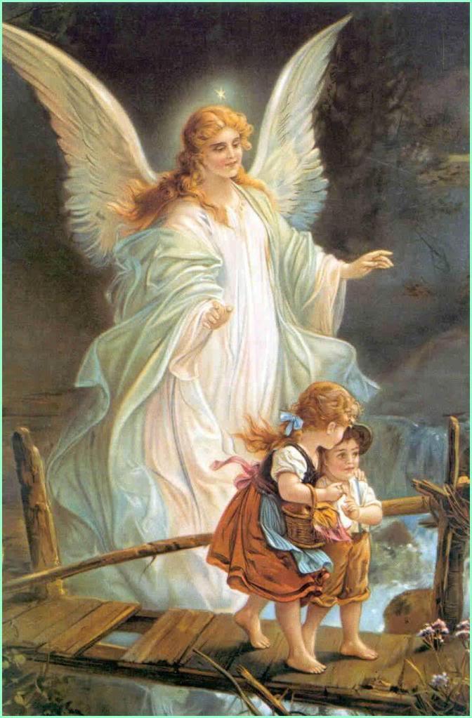Sincere Girl Wallpaper Guardian Angels A Christian Pilgrimage