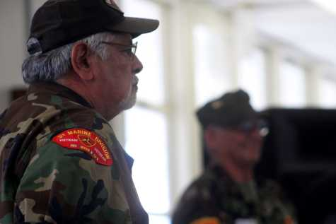 Vietnam veterans share experiences with students