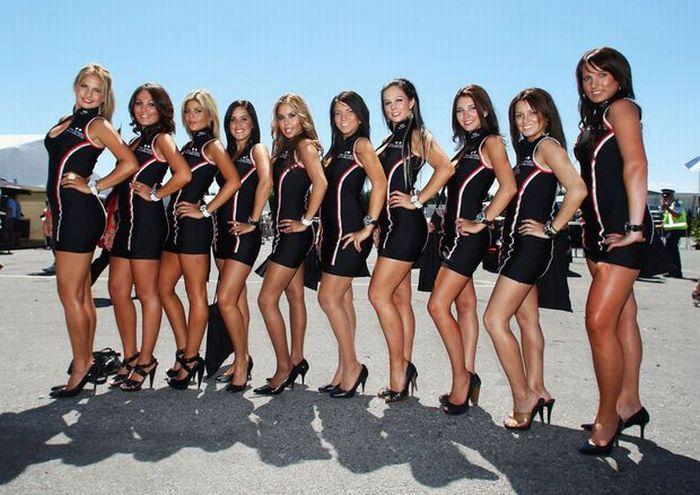 Santa Banta Jaguar Car Wallpapers Beautiful Pit Girls Of Formula One Page 3