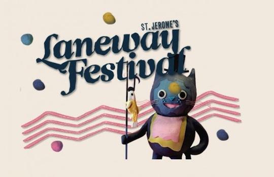 St. Jeromes Laneway Festival- Line Up