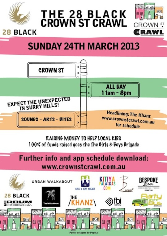 The 28 Black Crown St. Crawl_Poster