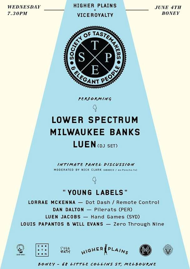 Society Of Tastemakers & Elegant People (STEP) presents- Young Labels - acid stag_poster